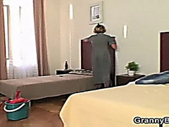 Miluse Havelova Cleaning lady