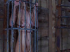 Ah-Me Movie:Caged up gal is forced to give...