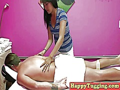 Xhamster Movie:Busty amateur asian masseuse t...