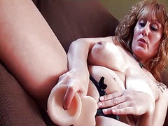 Thumb: Mature solo with toys