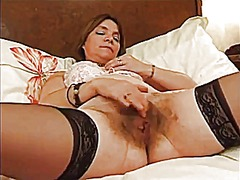 Xhamster Movie:Hairy french lesbians with fin...