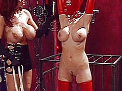 Xhamster Movie:Girl in latex bound with rope ...