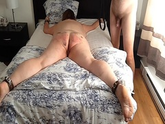 Private Home Clips Movie:Tied down & belted