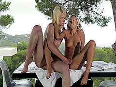 lesbian, movies, outdoors, long, lezzy, blonde, pussy, lesbos, swollen, lick, bra, clit, clean, kissing, video, girls