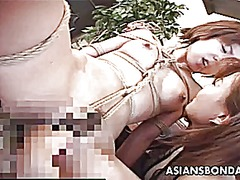 Xhamster Movie:Bound japanese cutie fingered ...