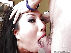 Thenewporn Movie:Exotic asa akira gets throat f...
