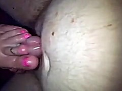 pink toes doing footjob preview