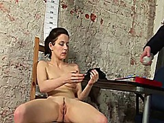 Nude job interview video
