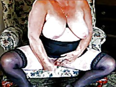 Beautiful granny webcam preview