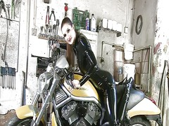 Babe and bikes video