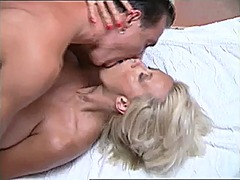 Busty blonde fucked by... video