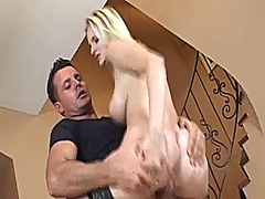 Blonde love big dick video
