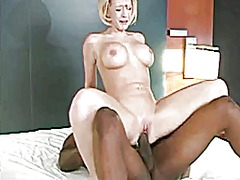 Hot sex with blonde cr...
