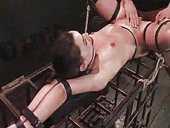 Wax scene and some doggy position for mina