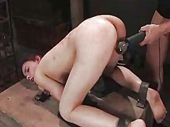 Yobt Movie:Wax scene and some doggy posit...