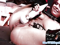 Thumb: Squirting latex redhea...