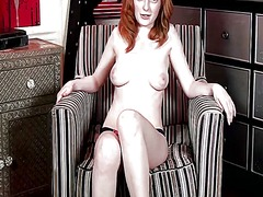 upskirts, hairy, redhead, lingerie, tits