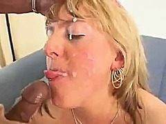 interracial, british, big, facial