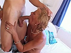 mature, facial, hairy, granny