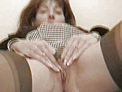 Thumb: Mature housewife gives...