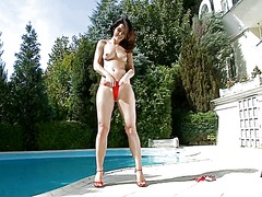 Betty saint pleasure by the pool