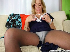 stockings, stocking, nylons, mature, milf, nylon
