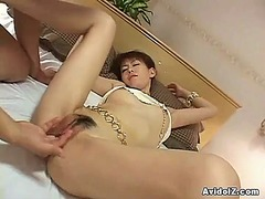 Japanes pussy has bumped uncensored