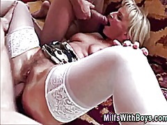 mature, threesome, milf,