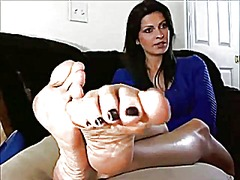 webcam, mature, foot, foot fetish