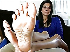 fetish, mature, foot fetish, foot