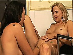 See: Two milfs having lesbi...