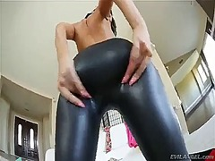 Ah-Me Movie:Leather leggings #9 - rachelle...