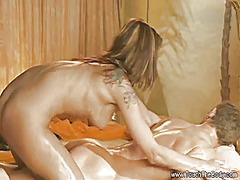 Xhamster - Blonde babe gives the ...